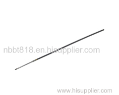 Soft shaft for rc yacht model