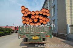 API 5L X60 Seamless steel pipe with FBE coating