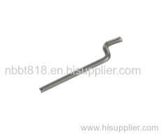 Throttle linkage for high speed boat