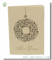 Kraft Season's Greeting Cards