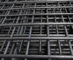 6 Inch Deformed Steel BRC mesh reinforcing