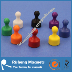 D12x19mm pushpin whiteboard photo magnets for sale