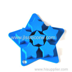 Mini Star shape silicone ice tube tray