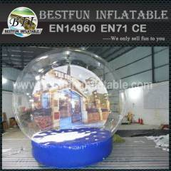 Promotion inflatable snow globe