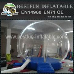Inflatable globe for decoration