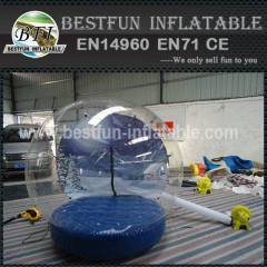 China inflatable snow globe