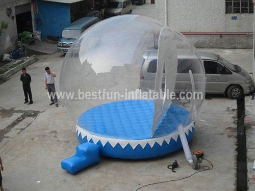 Factory direct sale inflatable snow globe tent