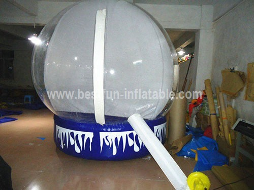 Advertising inflatable christmas globe