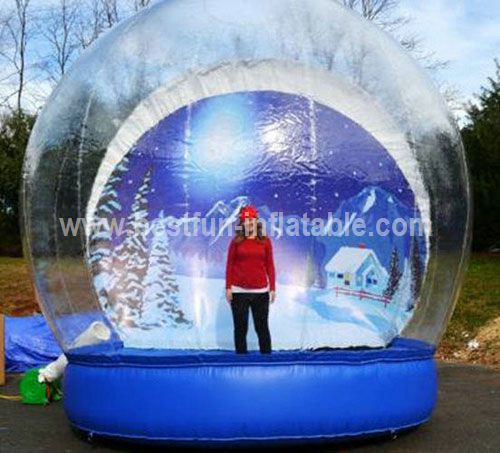 China inflatable snow globe tent