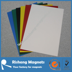 A4 297x210x0.5mm flexible vinyl strong make magnetic business sheeting