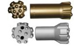 thread button carbide bits for thread rods