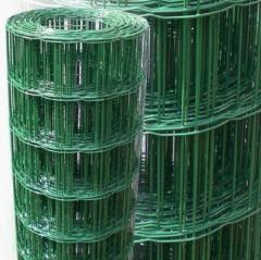 PVC-coated Wave Wire Green Holland Fence Wire