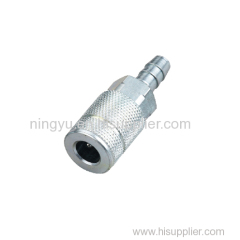 Wholesale High Quality USA Truflate Type Two Touch Hose Barb Coupler