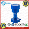 Plastic air coolant pump with C-frame motor