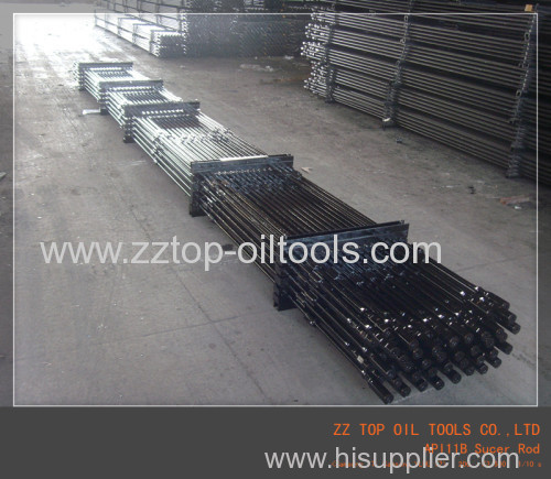 Alloy steel Sucker rod/Polish rod as per API11B