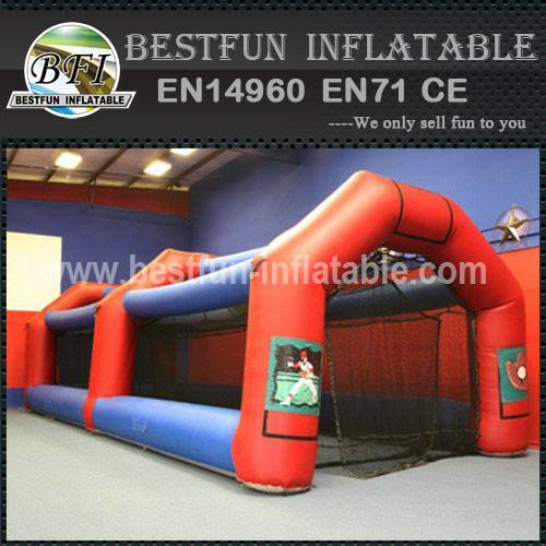 Inflatable paintball field bunkers