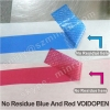 No Residue Red Tamper Proof Warranty VOID IF OPEN Stickers Label Papers