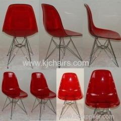 transparnt emas chair replica chair
