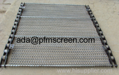 stainless steel chain mail conveyor belt