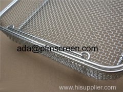 wire mesh medical basket
