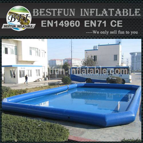 Inflatable large swimming pool