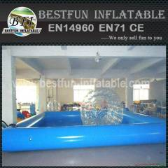 Aqua swimming inflatable pool for pedal boat