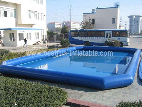Inflatable hamster ball pool