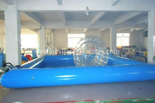 Inflatable water ball swimming pool