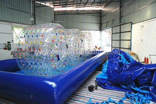 Water ball inflatable pool