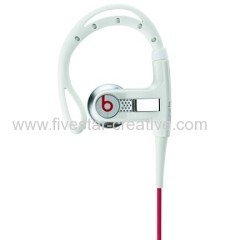 Beats by Dr.Dre Powerbeats Premium Athletic Earbuds Headphones white