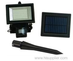 Solar Floodlights With PIR