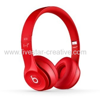 Beats by Dr.Dre Solo 2.0 On-Ear Red Headphones