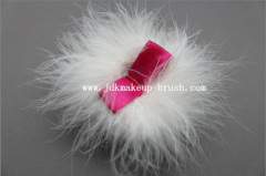 Turkey Feather Powder Puff