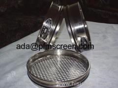 stainless steel fitler wire mesh sieves