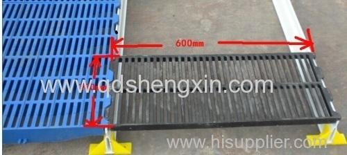 300x600mm Pig Farm Cast Iron Slat Floor