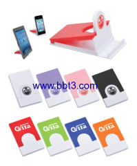 Plastic promotional folding mobile phone holder with printing