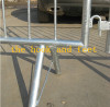 construction site safety crowd control barrier 1100x2400mm with 16mm pipe