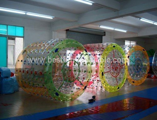 Giant roller inflatable water toys