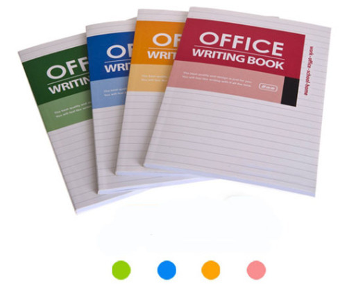 Colorful Classic Wireless Office Writing Book(100 sheets)