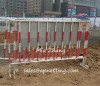 Construction site safeguard 1100mm height movable barricade fence