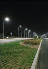 LED Aluminium Street Lighting Pole