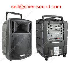 portable PA sound system with DVD/USB/SD/UHF/FM AK12-209A