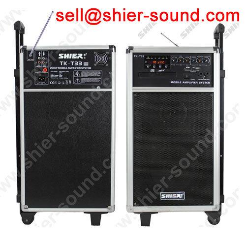 mobil sound set PA system wooden housing TK-T33
