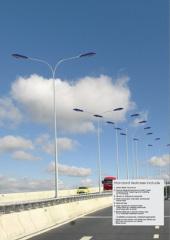 Aluminium Street Lighting Pole