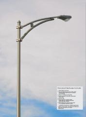 Aluminum Alloy Street Light Pole