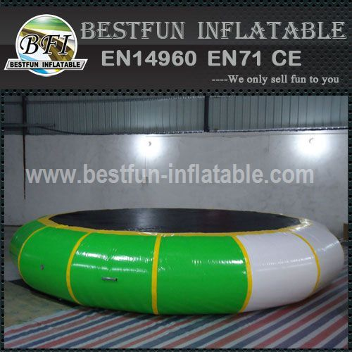 Popular aqua jump inflatable water trampoline
