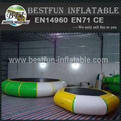 Inflatable water bouncer inflatable Podium