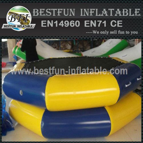 0.8mm pvc inflatable water trampoline
