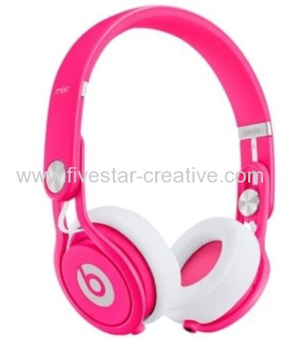Neon Pink DJ Headphones Beats Mixr New Limited Edition