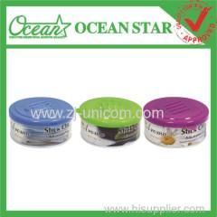 45g tin can gel car freshners